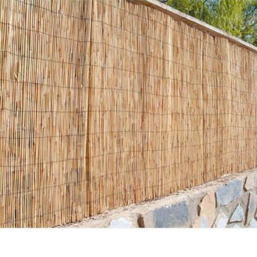 Separación-jardín-bambú-natural-caña-completa