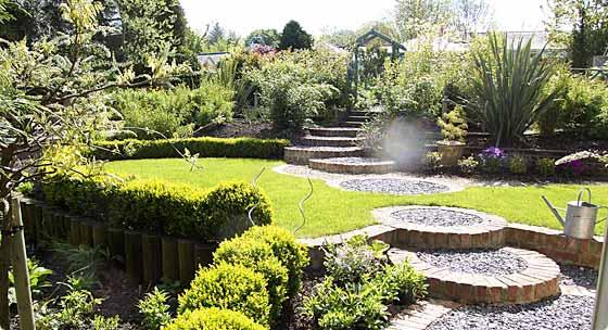 landscaping garden design Classic Landscape Design and Traditional Landscape Design