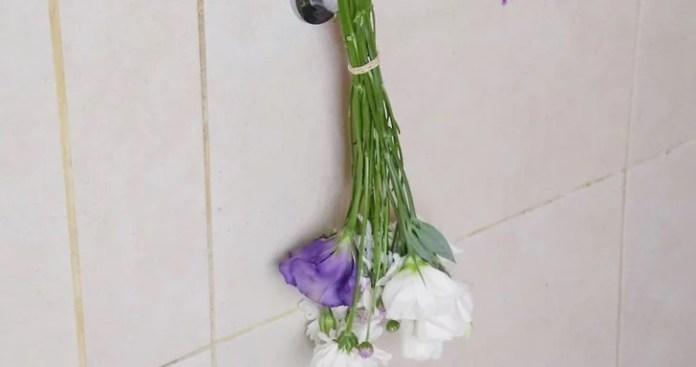 Hang flowers