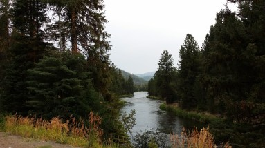 Looking North up the Payette River