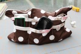 24 pocket zipper pouch