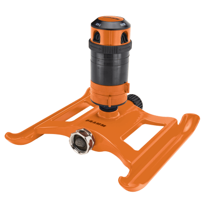 Dramm Orange ColorStorm 4 Pattern Gear Sprinkler