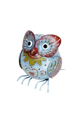 bali-garden-snowy-owl