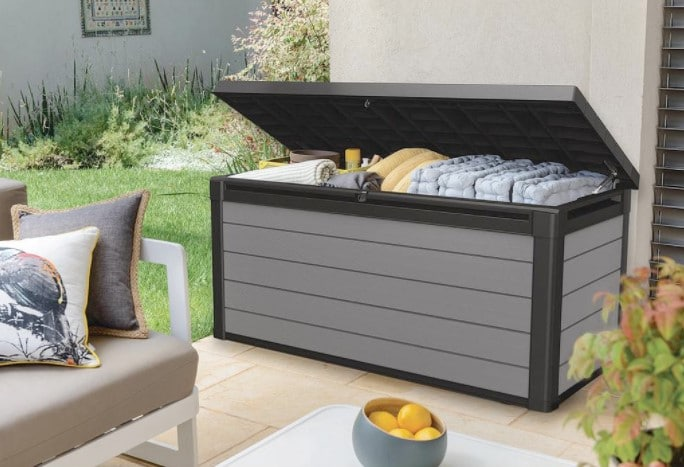best deck boxes for outdoor patio storage