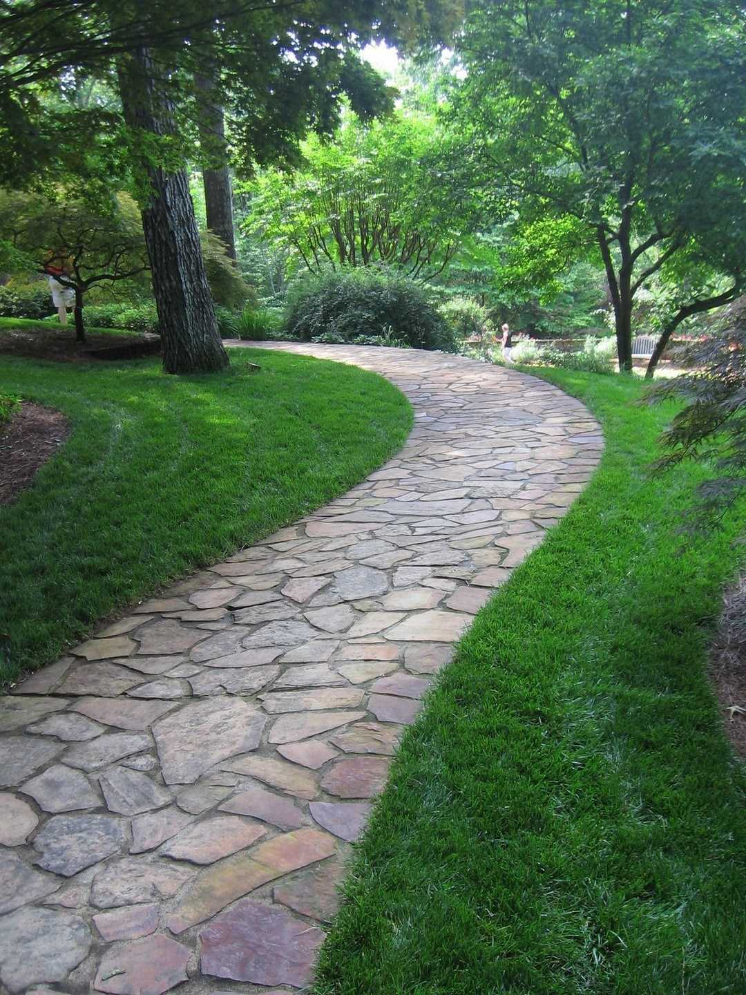 40 Simply Amazing Walkway Ideas For Your Yard - Page 12 of ... on Backyard Walkway Ideas id=51468