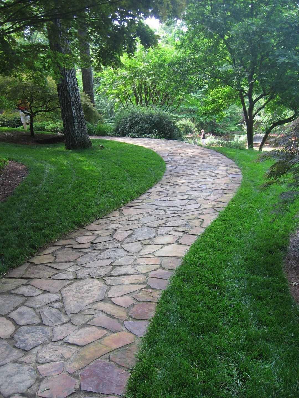 40 Simply Amazing Walkway Ideas For Your Yard - Page 12 of ... on Backyard Walkway Ideas id=87519