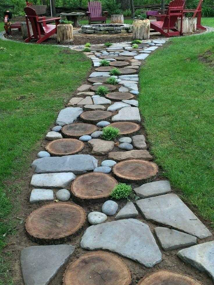 40 Simply Amazing Walkway Ideas For Your Yard - Page 3 of ... on Backyard Walkway Ideas id=37707