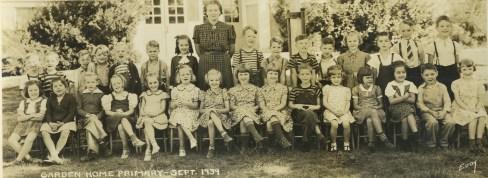1939 Garden Home School grades 1 and 2