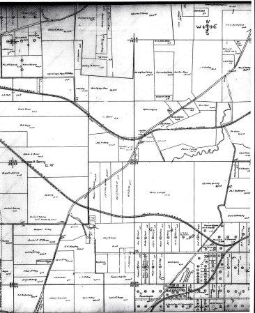 1909 map of Garden Home
