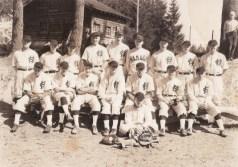 1935 or 1936 Garden Home baseball team of the Sunset League