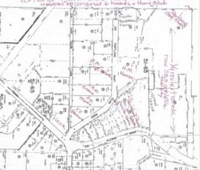 Portland Hunt Club neighborhood plot map