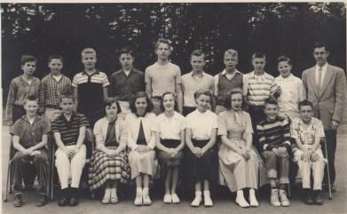 1957 Garden Home School, 7th grade