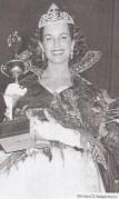 Dorothy Johnson winning Miss Oregon 1955