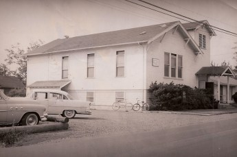 Old Community Church circa 1950's