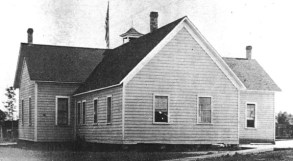 BHS 1874 building, circa 1900s (rear)