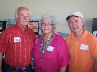 Dennis Classen, Susan Williams Mihelich and Randy Classen