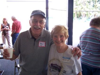 Ben Jones and Marie Pacella
