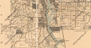 1893 Atlas of Multnomah County