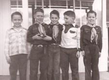 1950 Larry Williams, Larry Peyton, Andy Norris, Gary Kelling, David Krom