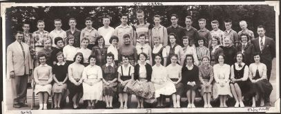 GHS 1957 8th Grade, Wayne Thurman, Prinicpal
