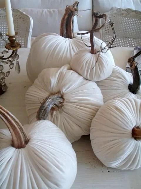 Rachel Ashwell Velvet Pumpkins