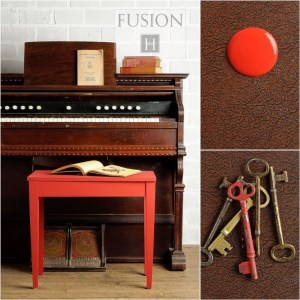Fusion mIneral Paint Fort York Red