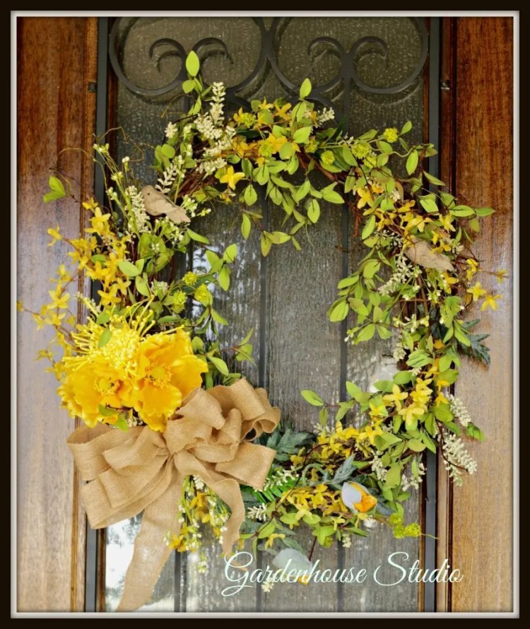 spring wreath diy 2017 gardenhouse studio