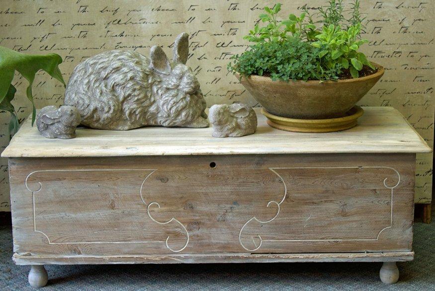 refinishing or painting wood furniture
