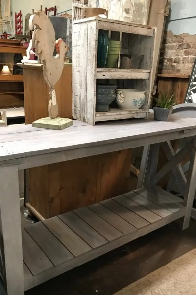 Pinterest Knock-Off Sofa Table