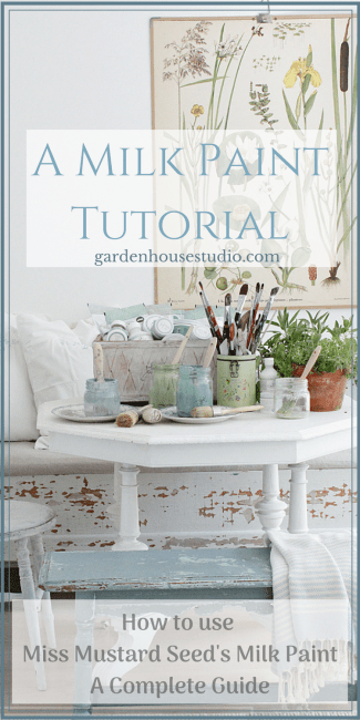 milk Paint Tutorial