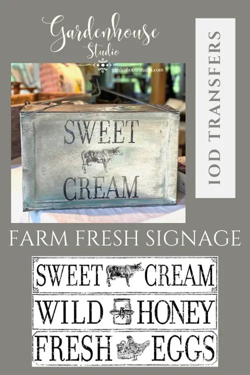 Farm Fresh Signage Transfer