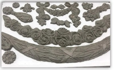 IOD Moulds Floral Swags