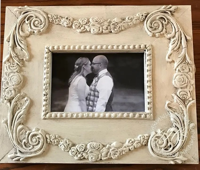 Using IOD Moulds DIY and Making a Shabby Chic Picture Frame