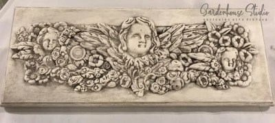 IOD Cherub Mould Relief