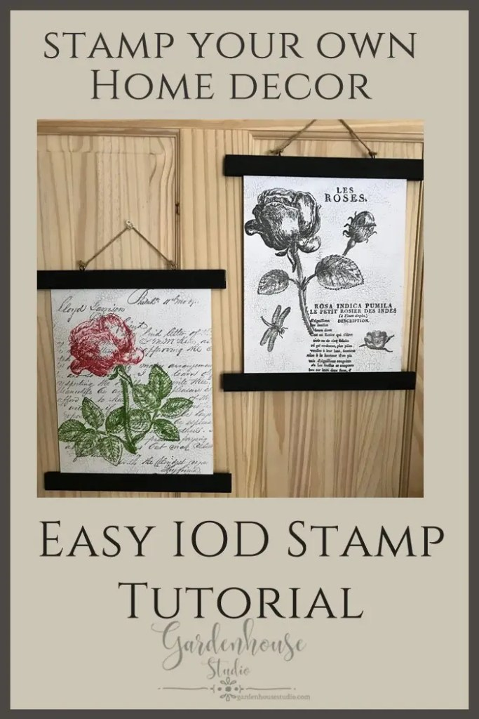 IOD Stamps Tutorial