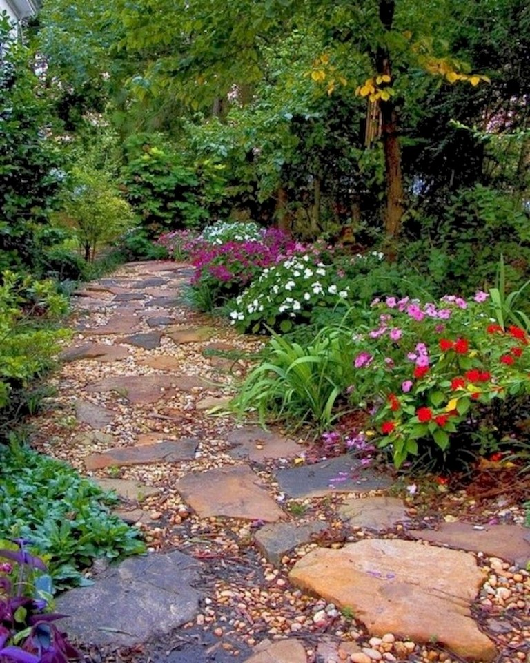 60+ Beautiful Backyard Garden Path & Walkway Ideas On A Budget on Backyard Walkway Ideas id=32544