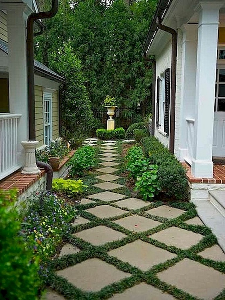 60+ Beautiful Backyard Garden Path & Walkway Ideas On A ... on Backyard Walkway Ideas id=99732