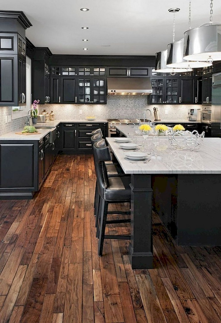 63+ Marvelous Modern Farmhouse Kitchen Cabinet and ... on Farmhouse Countertops  id=12590