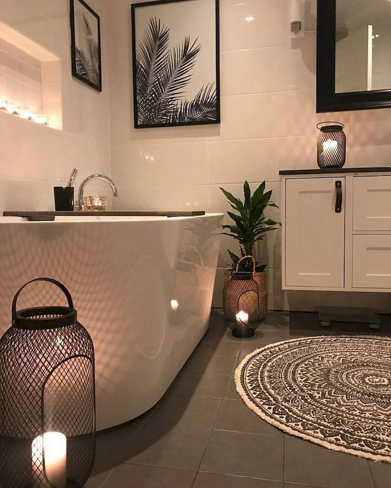 80+ Luxury Small Bathroom Decorating Ideas - Page 62 of 82