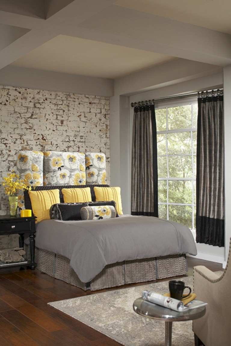 Paint your walls in soft gray to create a tranquil,. 45+ Cozy Grey Yellow Bedrooms Decorating Ideas - Page 4 of 47