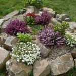 40 Beautiful Front Yard Rock Garden Landscaping Ideas (30)