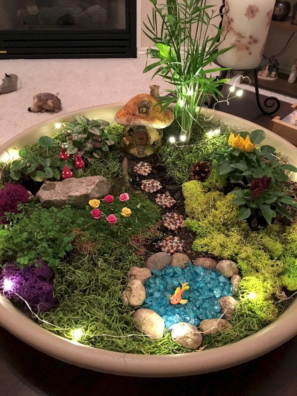 40 Beautiful Indoor Fairy Garden Ideas (20)