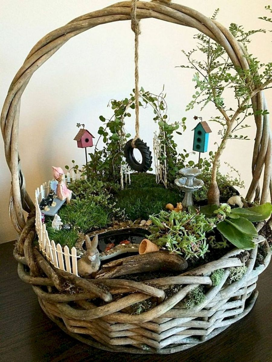 40 Beautiful Indoor Fairy Garden Ideas (34)