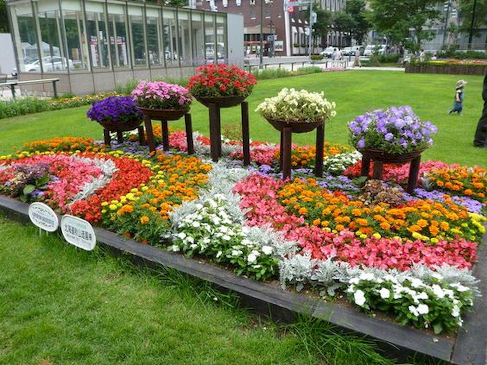 55 Beautiful Flower Garden Design Ideas (14)