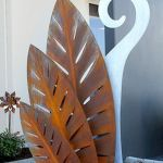 70 Fantastic Metal Garden Art Design Ideas (26)