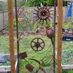 70 Fantastic Metal Garden Art Design Ideas (27)