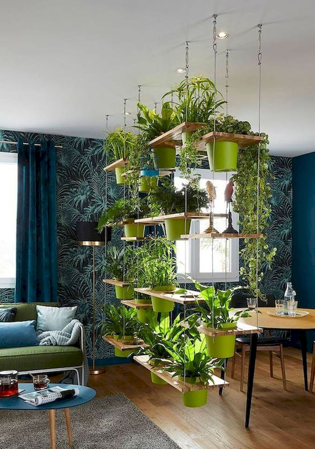 40 Awesome Indoor Garden Design Ideas That Look Beautiful (3)