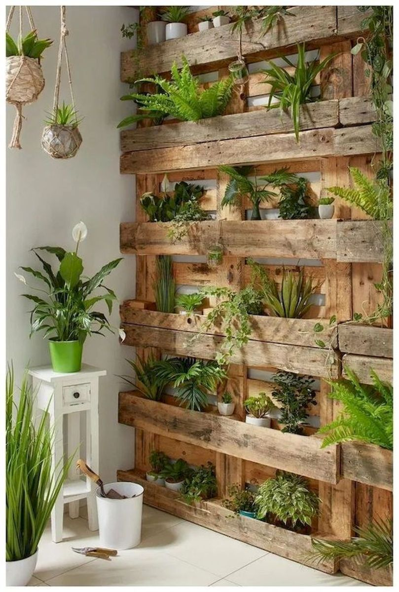 40 Awesome Indoor Garden Design Ideas That Look Beautiful (9)