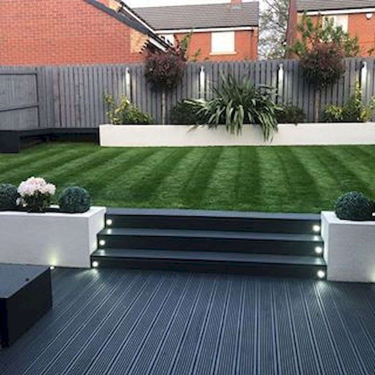 40 Fabulous Modern Garden Designs Ideas For Front Yard and ... on Patio And Grass Garden Ideas id=60172