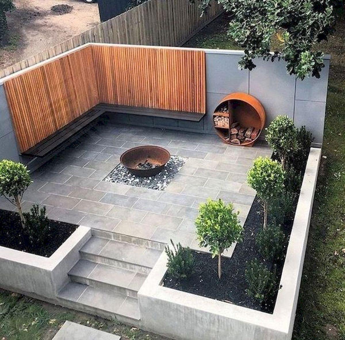 40 Fabulous Modern Garden Designs Ideas For Front Yard and Backyard (14)